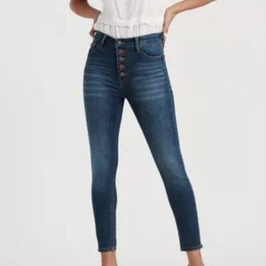 LUCKY BRAND GREAT COND HI RISE MOM SKINNY JEANS